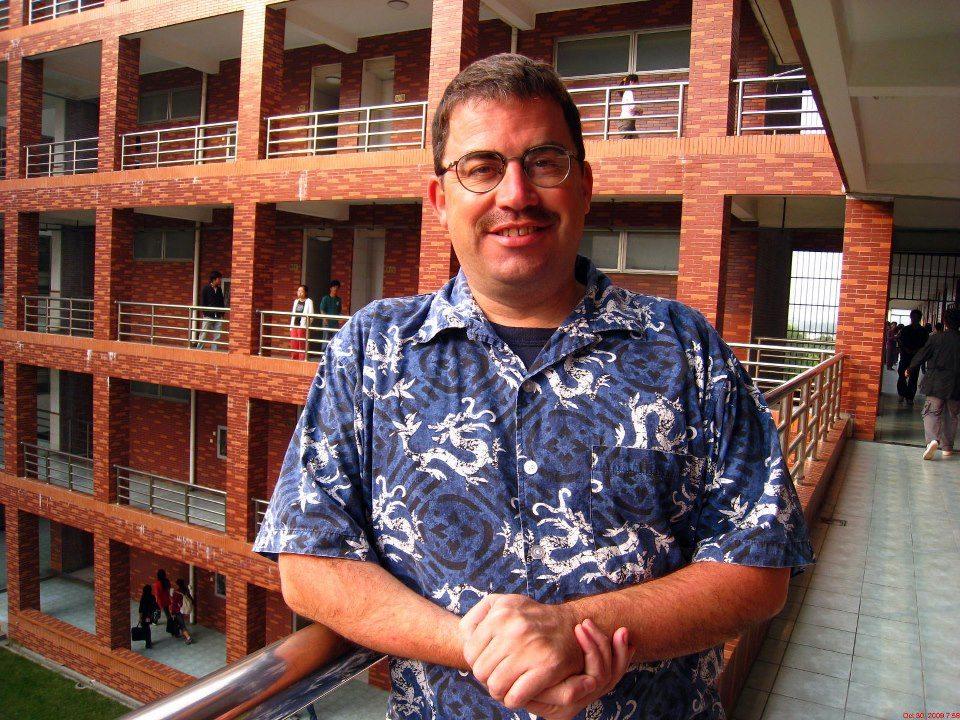 Native English Teacher Brian