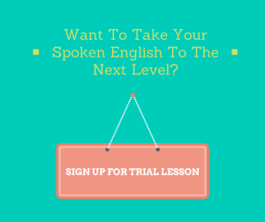 Spoken English Trial Lesson