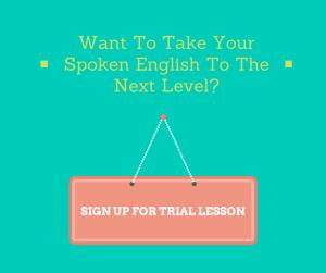 Spoken English Trial Lesson