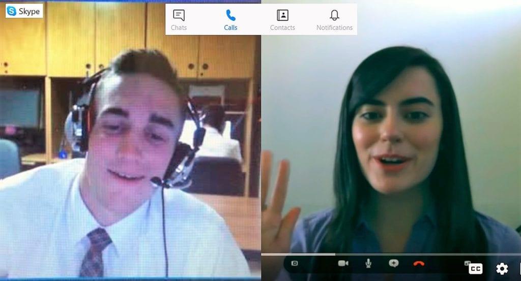 Spoken English Skype