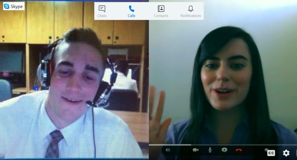 Spoken English Skype Lesson